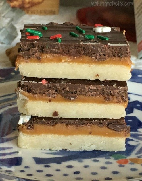Chocolate Caramel Shortbread Cookie Bars & GIVEAWAY ...