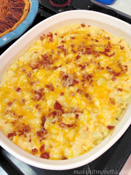 Loaded Cauliflower Casserole – Makin' it Mo'Betta