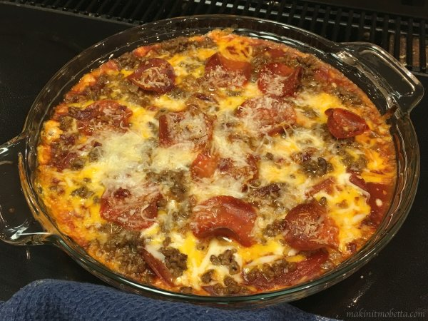 Meat Lovers Pizza Dip