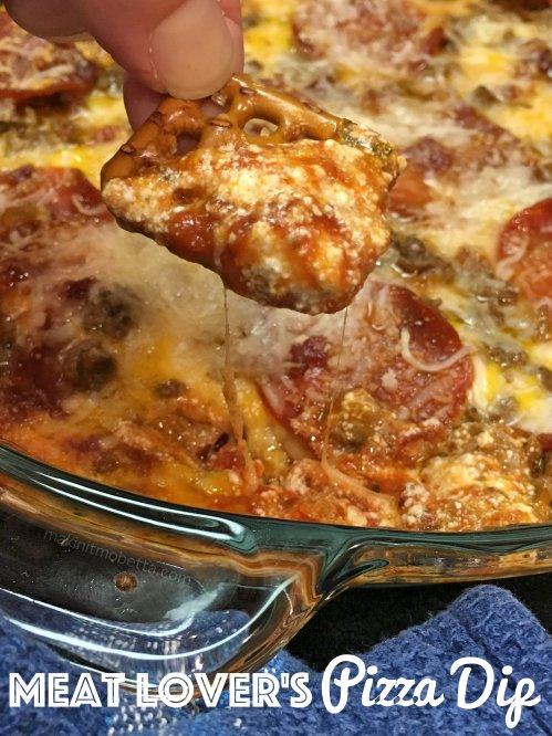 Meatza Pizza Dip